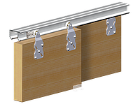 Valcomp HORUS комплект для 2-ух раздвижных двери шкафа купе