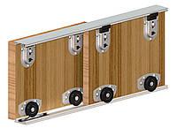 Valcomp Ares2 комплект роликов для 2-ух дверей шкафа-купе