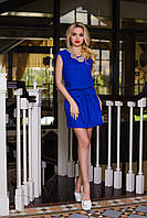 Женское платье Албен электрик свободного кроя