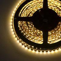 Гибкая светодиодная лента без влагозащиты SMD 2835, 5м;120leds/m, 8мм*2,4мм, 12Vdc, 800mA/m, 700Lm/m (3200K)