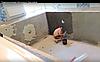 Строительство бетонного бассейна.