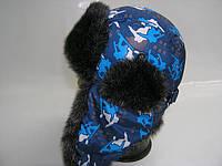 Шапка ушанка сноуборд, фото 1