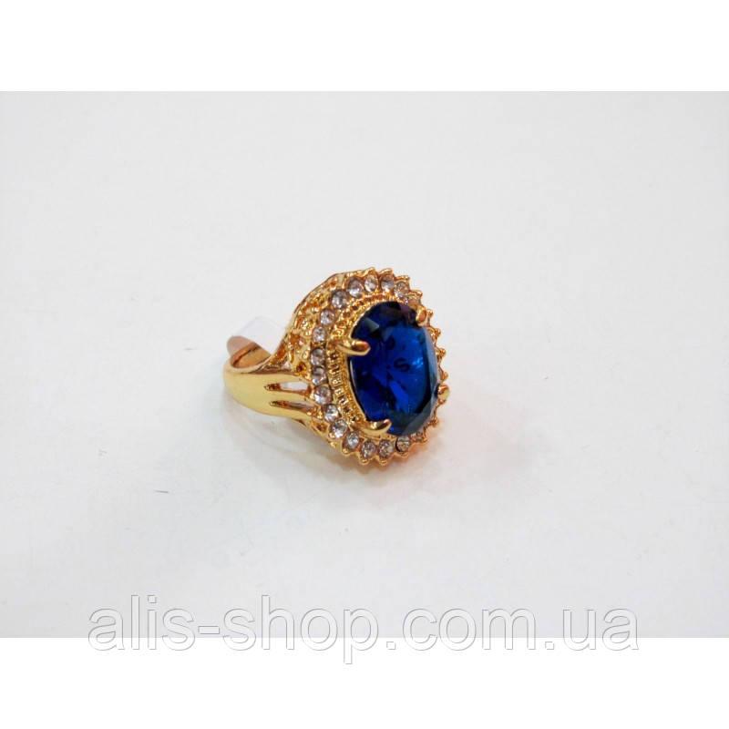 f7812fd445ef Эксклюзивное нарядное кольцо с крупным камнем цвета индиго 17 размер:  продажа, ...