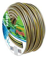 Шланг поливочный EVCI PLASTIC Зебра (PROFI) - 3/4, 20м (36652)