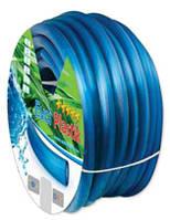 Шланг поливочный EVCI PLASTIC силикон (SELIKON) - 3/4, 20м, эконом.армир.(36654)