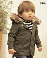 Демисезонная куртка для мальчика. 90 см