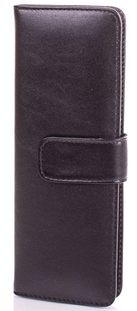 Черная женская кожаная визитница Canpellini, SHI124-2GL