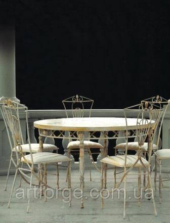 Кованый стол - Коллекция «Дворянское собрание»