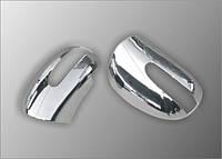Mercedes ML 164 Накладки на зеркала (нерж.)