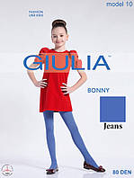 Детские ажурные колготки 80DEN (Jeans (Синий))