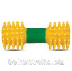 Гантель с шипами, игрушка для собак, 18,5 см