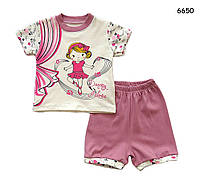 """Летний костюм """"Балерина"""" для девочки. 1 год"""