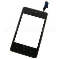 Тачскрин сенсорное стекло для LG T375 Cookie Smart Dual black