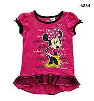 Туника Minnie Mouse для девочки. 2, 5 лет