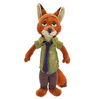 Мягкая игрушка Ник Уайлд - Зоотопия - мал -33 см