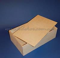 Коробка с крышкой №1 заготовка для декупажа и декора