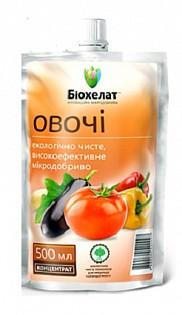 """Микроудобрение """"Биохелат для овощей"""" 500мл"""