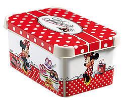 """Коробка для хранения Curver Stockholm """"Минни"""" 04710-М38"""