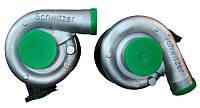 Турбокомпрессор (турбина) Schwitzer(Швицер) S2B (автомобиль Камаз,двигатель Камаз - 740 )