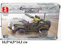 Конструктор Sluban  Патрульная машина M38-B0296 Серия Сухопутные войска 2