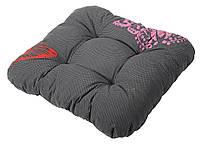 Подушка для стула 40 х 40 х 8 см бабочка