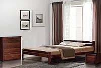 Кровать деревянная двуспальная из ольхи Ольга 1600*2000