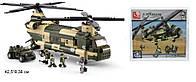 Конструктор Sluban Транспортный вертолет M38-B0508 Серия ВВС военно воздушные силы