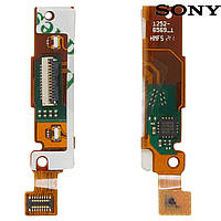 Шлейф для Sony LT22i Xperia P, сенсорного экрана, с компонентами (оригинал)