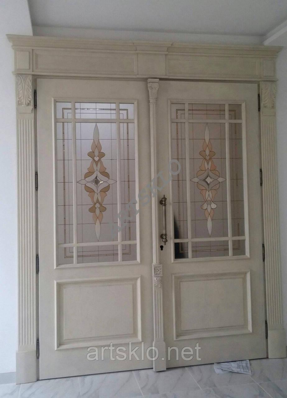Витраж в межкомнатные двери