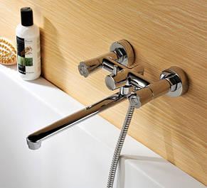 Смесители для ванны с поворотным гусаком