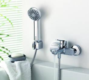 Смесители для ванны с литым носиком