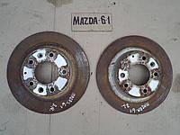Диск тормозной задний левый и правый для Mazda 6, АКПП, 2.0i, 2004 г.в. GF3Y26251A, G25Y26251A