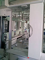 Зеркало в ванную З-01 ВР Николь 65 см правое