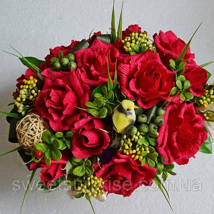 """Подарочная корзина """"Вкусные розы"""", фото 2"""