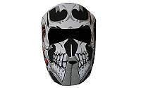 Маска лицевая ветрозащитная MS-4344-4 Tribal Skull (неопрен, черный)