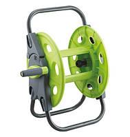 Presto-PS Green 3401, катушка для садового шланга двух типов: 45м 1/2, 30м 5/8, пластиковый барабан