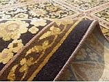 Золотой классический ковер с рельефным рисунком, фото 3