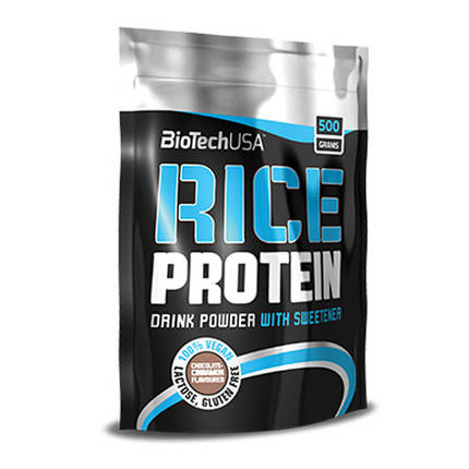 Rice Protein BioTech 500g, фото 2
