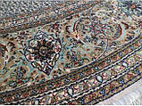 Круглий килим в різних розмірах сіро-блакитний, фото 4