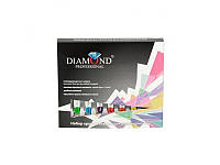 3 D гель-краски для дизайна ногтей в наборе Diamond ЦЕНА за НАБОР GK-01