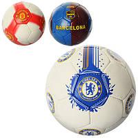 Мяч футбольный, клубный,  4 слоя, 1 вид, 410-430 г (ОПТОМ) CH 2500-5A