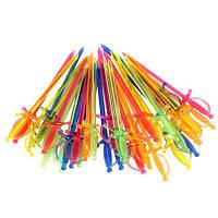 Украшение шпажки шпага 1000 шт цветные