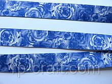 Резинка, с рисунком, плотная , 25 мм