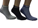 Носки мужские короткие сетка спорт Adidas пр-во Турция, фото 4