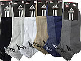 Носки мужские короткие сетка спорт Adidas пр-во Турция, фото 5