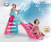 Горка с водным эффектом Frozen Injusa 20028