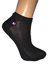 Шкарпетки жіночі короткі сітка спорт Tommy