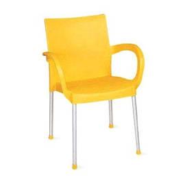 Стул кресло Sümela Сумела пластик с подлокотниками