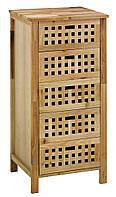 Комод с  4-мя деревянными ящиками, масив тополя