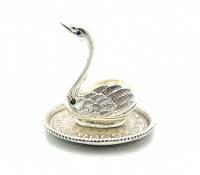 Подставка под кольца Лебедь